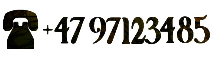 Call +47 97123485
