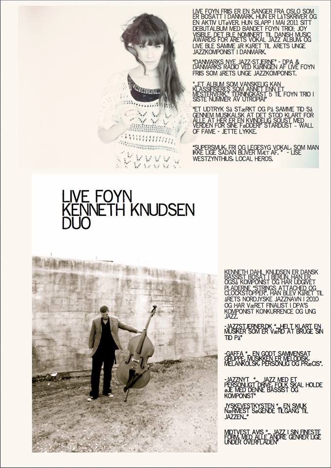 Live Foyn Kenneth Knudsen Duo