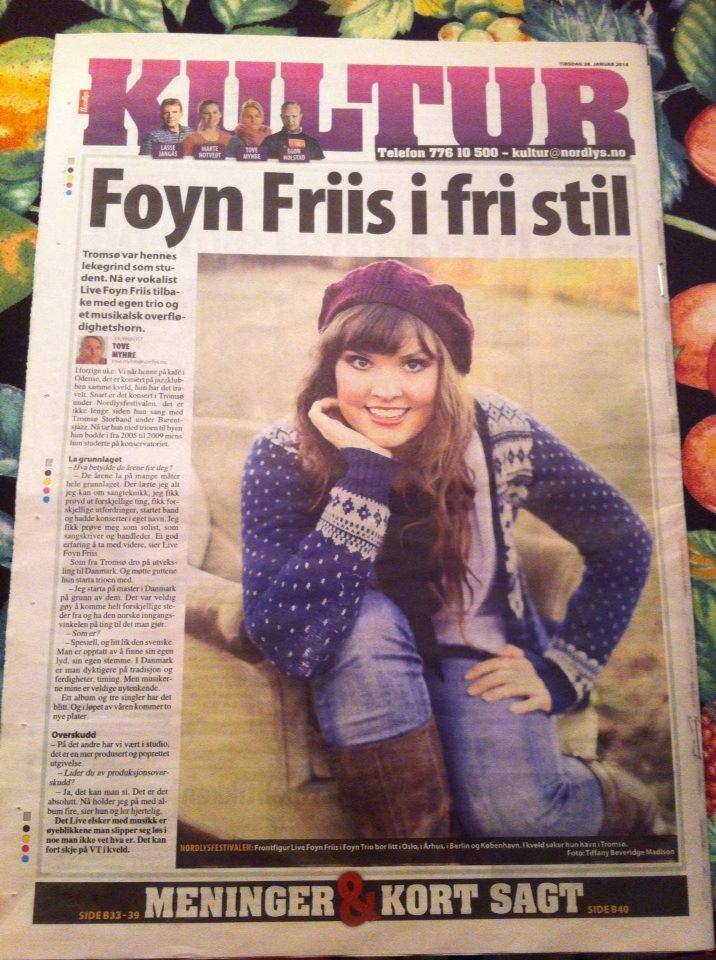 Live Foyn Friis, Nordlys