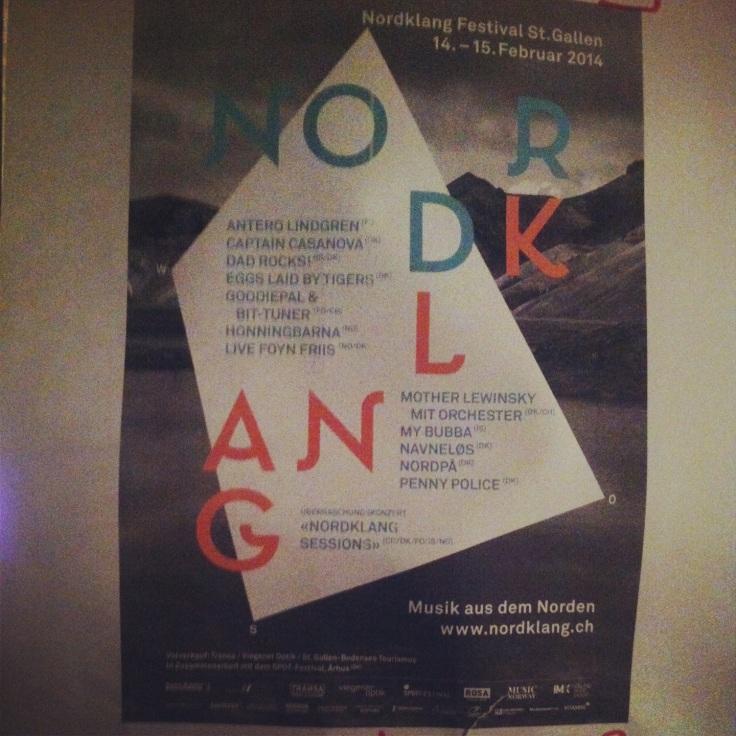 Poster Nordklang Festival 2014