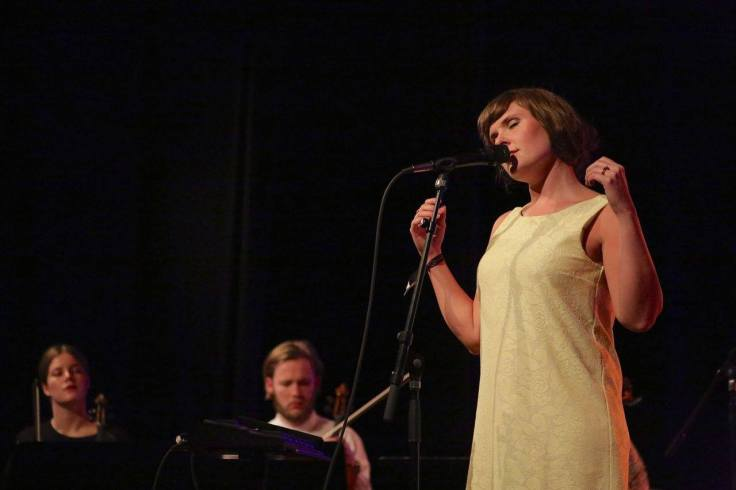 Live Foyn Friis @ JazzAhead2014!, Photo: Ralf Dombrowski, The London Jazz News