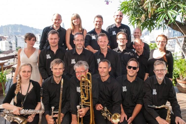 Randers Big Band & Live Foyn Friis in Rio De Janeiro 2013